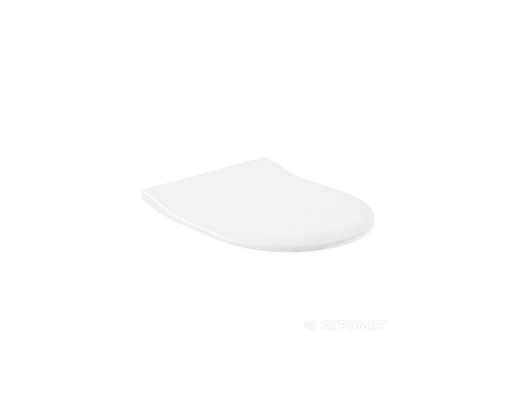 Крышка тонкая для унитаза 9M78S101 SUBWAY 2.0 SC/QR,432x358x40